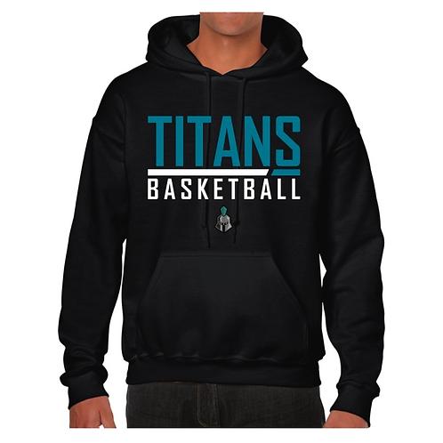 Ely Titans Black Hoody Design 1