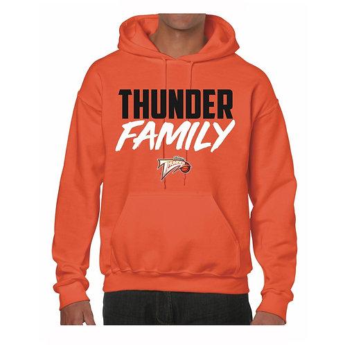 Worthing Thunder Orange Hoody design 1