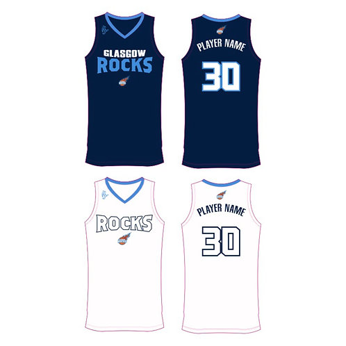 Glasgow Rocks Reversible Training vest 1