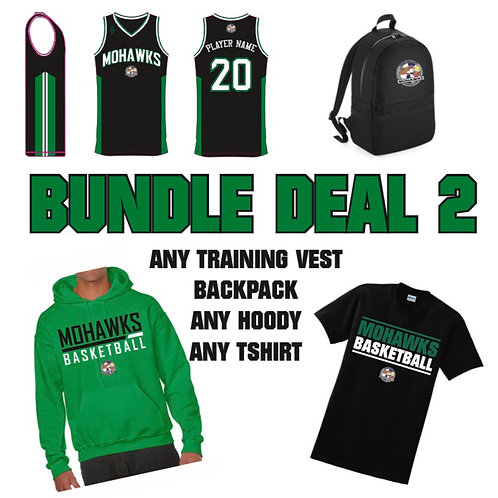 Tees Valley Mohawks Bundle Deal 2 (Adult sizes)