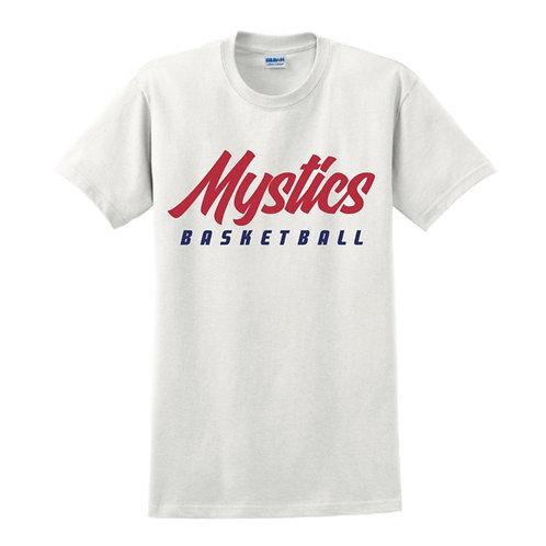 Manchester Mystics Basketball White T-shirt