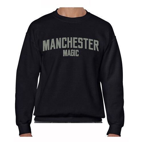 Manchester Magic Black Crew - Grey