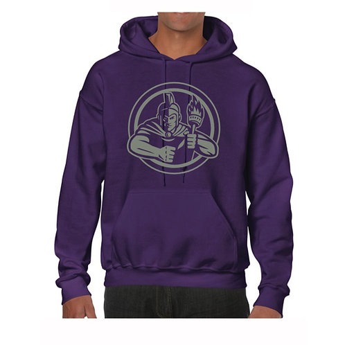 Gosforth Goliaths Purple Hoody design 7