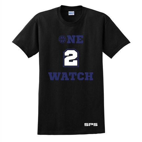 One to Watch Black & Blue T-shirt