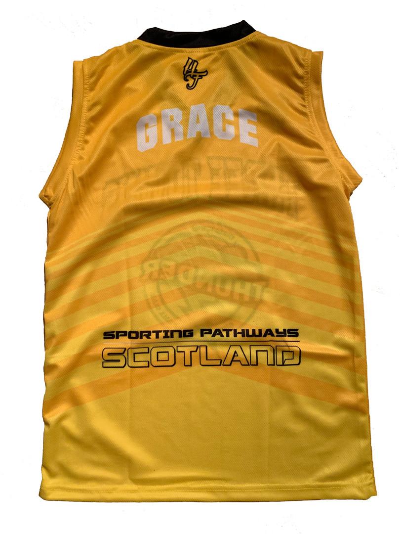 hoop freakz basketball kit thunder jerse