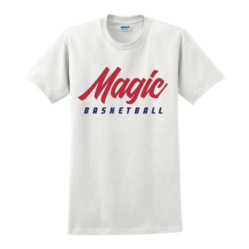 Manchester Magic Basketball White T-shirt