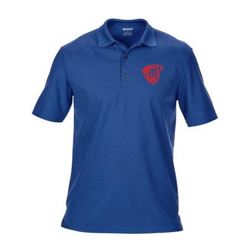 Manchester Magic & Mystics Blue Sports/Performance Polo Shirt