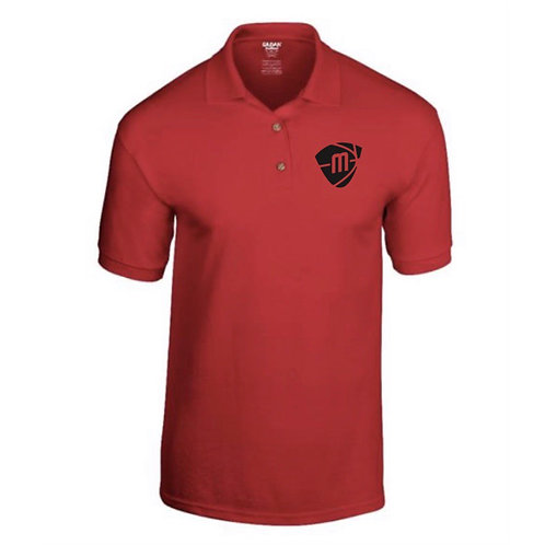 Manchester Magic & Mystics Red Polo Shirt
