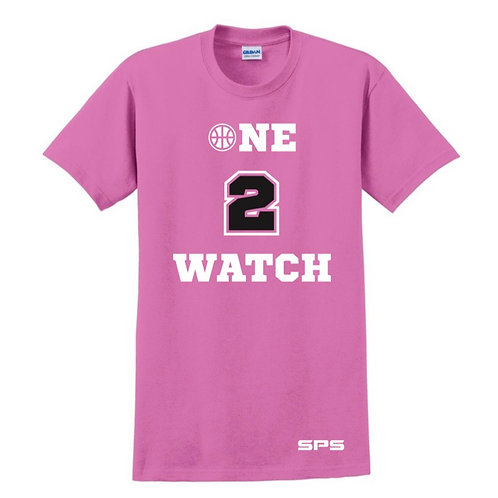 One to Watch Pink T-shirt
