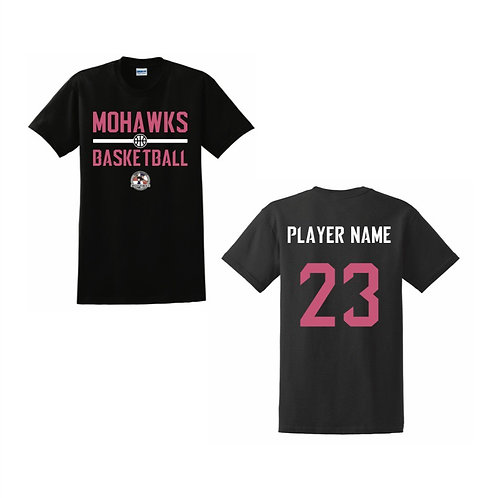 Tees Valley Mohawks Womens T-shirt Design 2