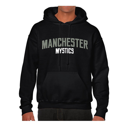 Manchester Mystics Black Hoody - Grey & White