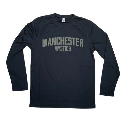 Manchester Mystics Long Sleeve Shirt - Grey