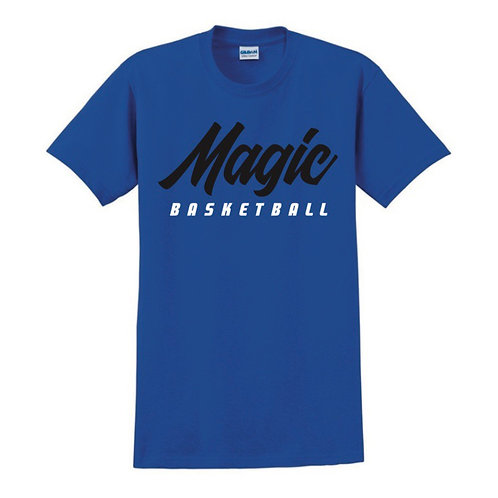 Manchester Magic Basketball Blue T-shirt