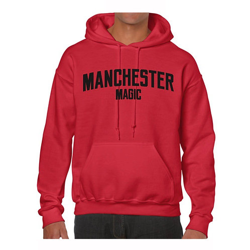 Manchester Magic Red Hoody
