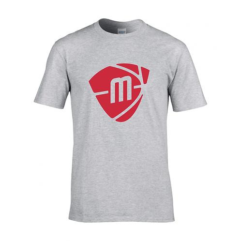 Manchester Magic & Mystics Sport Grey Logo T-shirt - Red p