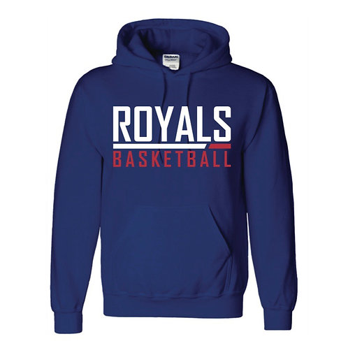 East Herts Royals Blue Hoody design 2