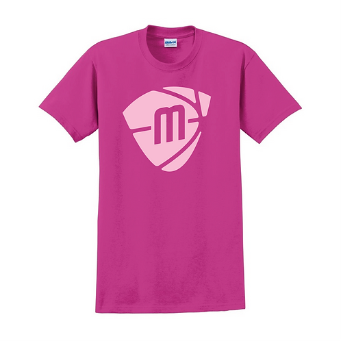 Manchester Magic & Mystics Heliconia Pink Logo T-shirt - Pink print