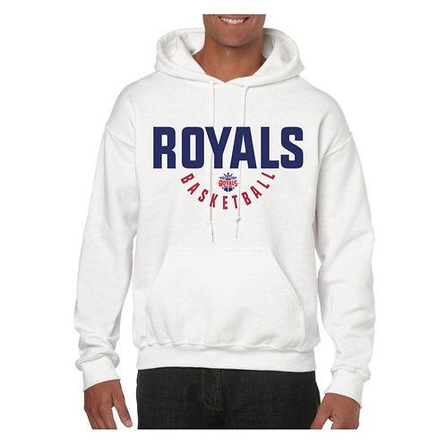 East Herts Royals White Hoody design 4