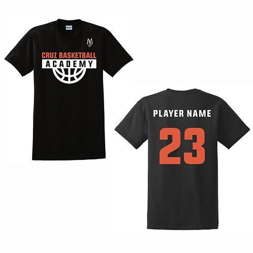 Cruz Basketball Academy T-Shirt Design 3