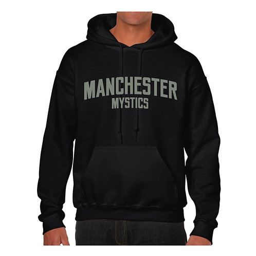Manchester Mystics Black Hoody - Grey