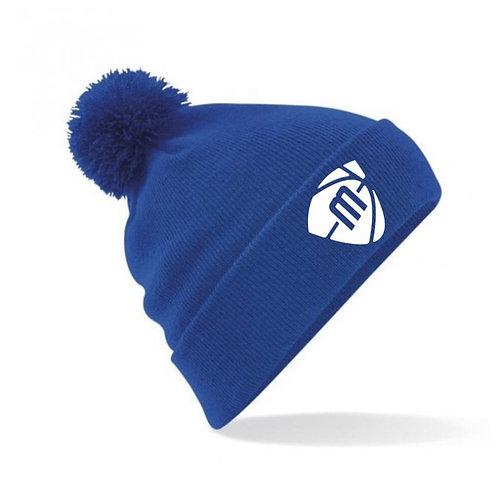 Manchester Magic & Mystics Blue Bobble Hat
