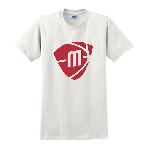 Manchester Magic & Mystics White Logo T-shirt