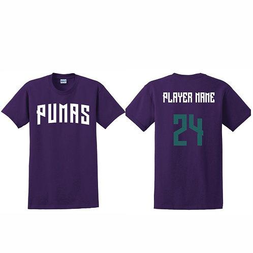 Stockton Pumas - Purple T-shirt Design 9