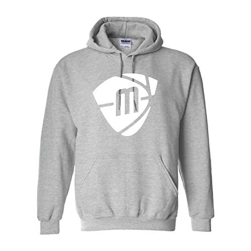 Manchester Magic & Mystics White Logo Sport Grey Hoody