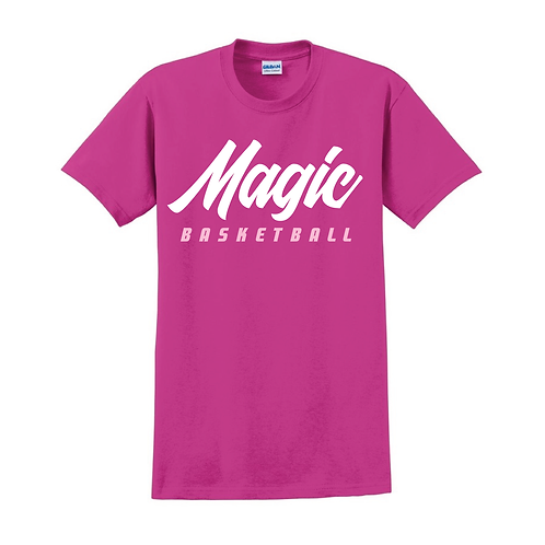 Manchester Magic Basketball Heliconia Pink T-shirt 1