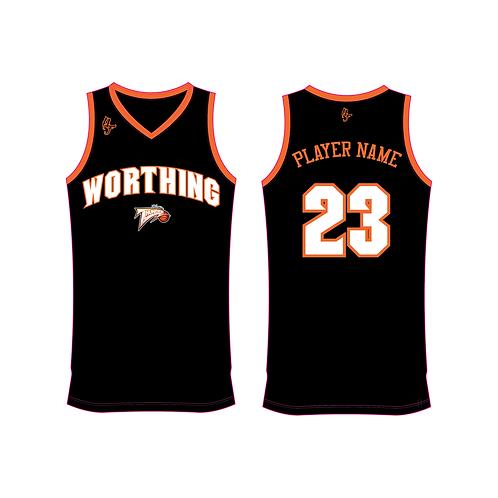 Worthing Thunder Training Jersey Design 2 - Black