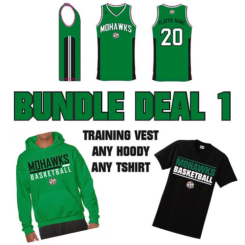 Tees Valley Mohawks Bundle Deal 1 (Youth sizes)