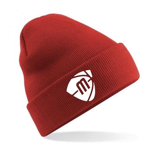Manchester Magic & Mystics Red Beanie Hat