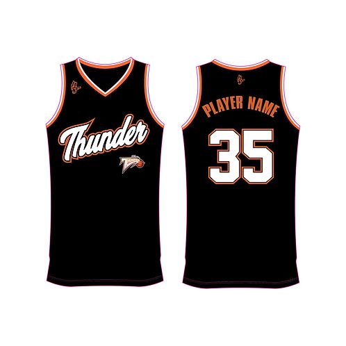 Worthing Thunder Training Jersey Design 3 - Black