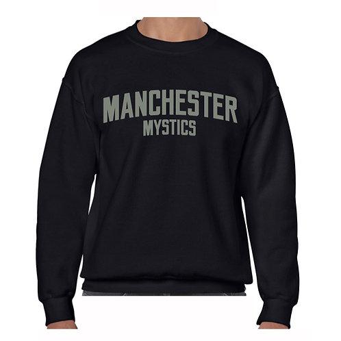 Manchester Mystics Black Crew - Grey
