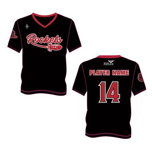 Ryton Rockets Shooting Shirt Design 1