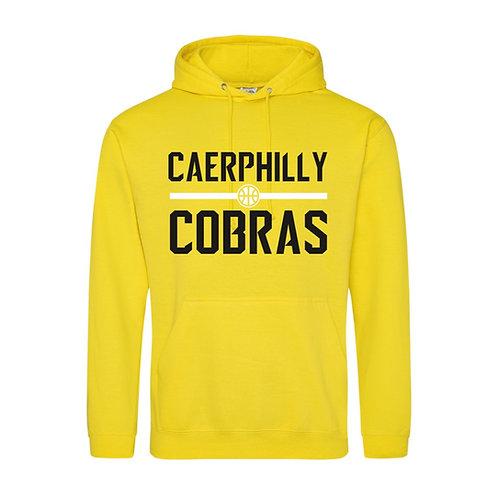 Caerphilly Cobras Sun Yellow Hoody
