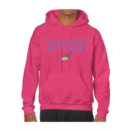 Glasgow Rocks Juniors Hoody design 3 - Pink