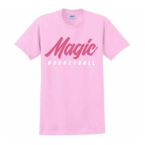 Manchester Magic Basketball Light Pink T-shirt 2