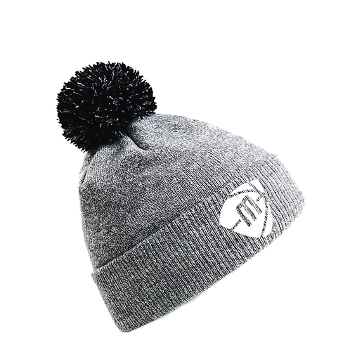 Manchester Magic & Mystics Heather and Black Bobble Hat