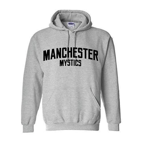 Manchester Mystics Sport Grey Hoody - Black print