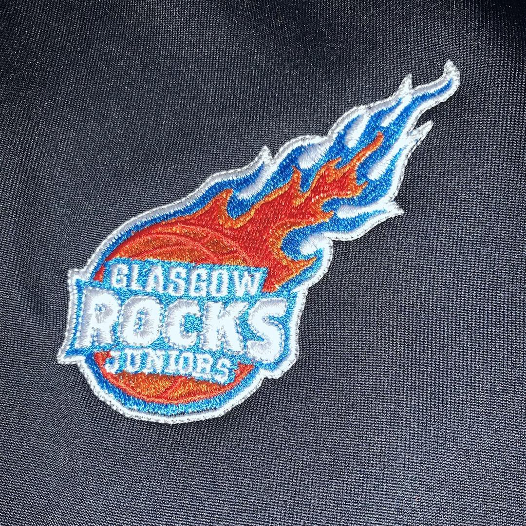 Hoop Freakz basketball Glasgow rocks tra