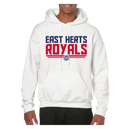 East Herts Royals White Hoody design 5