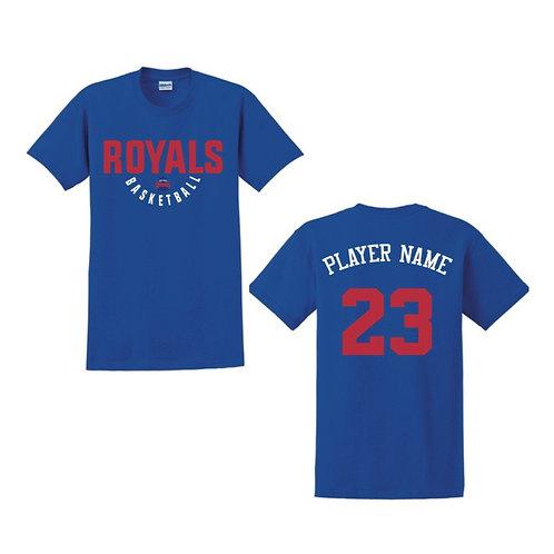 East Herts Royals - Blue T-shirt Design 4