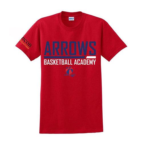 Derbyshire Arrows Red T-shirt Design 2