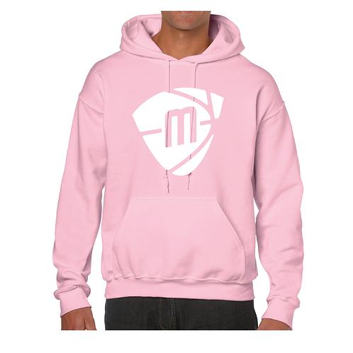 Manchester Magic & Mystics White Logo Light Pink Hoody
