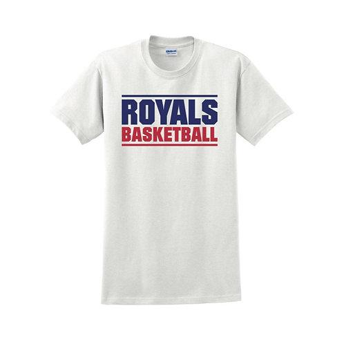 East Herts Royals - White T-shirt Design 3