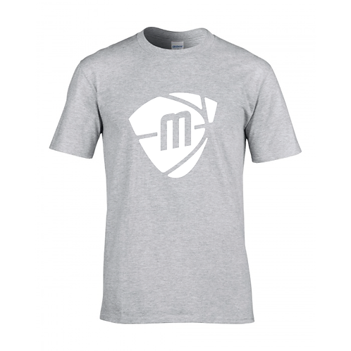 Manchester Magic & Mystics Sport Grey Logo T-shirt - White print
