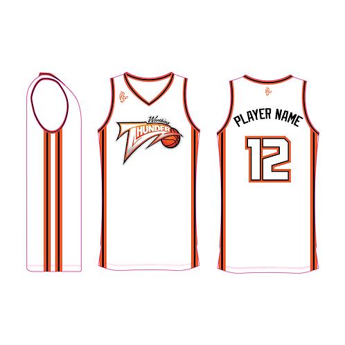 Worthing Thunder Training Jersey Design 1 - White