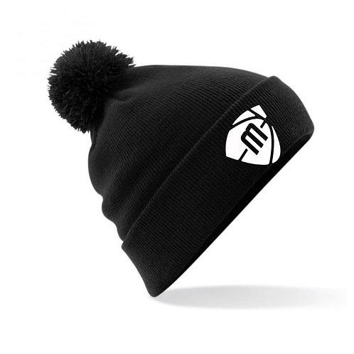 Manchester Magic & Mystics Black Bobble Hat