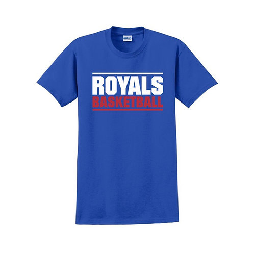 East Herts Royals - Blue T-shirt Design 3